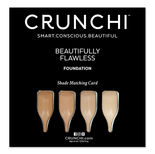 Foundation Shade Matching Sample Card