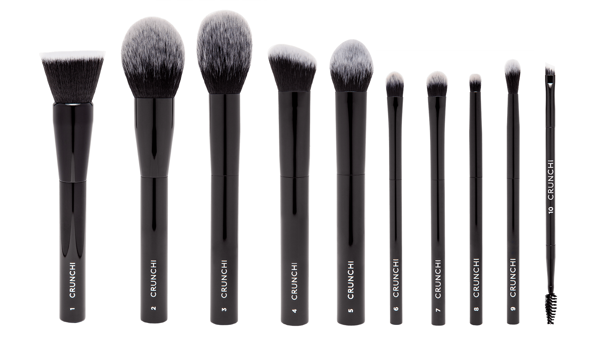 Selection of Crunchi Brushes