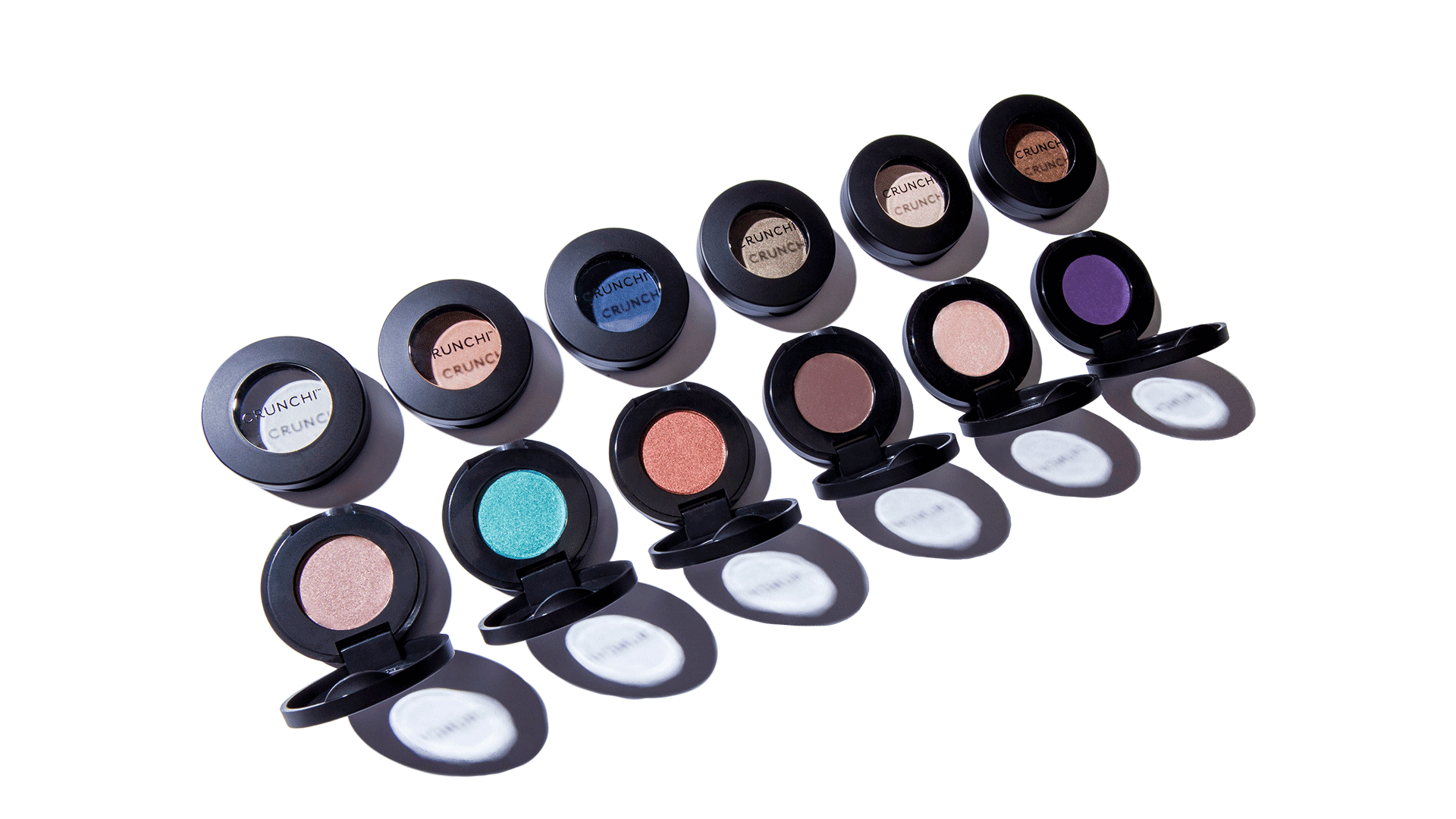 Rows of Crunchi Eyeshadow